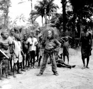 Nwa Ekpo, boy's masquerade, Nimo