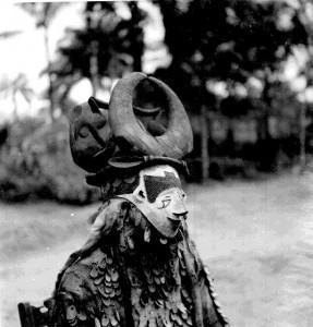 Anumbii (Horned Beast), Amuobia village