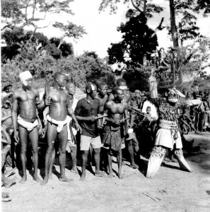 Mgbedike or Agu neche Enyi (leopard/elephant), Nimo