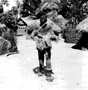 Awo Ohia (Traveller -- he who travels through the bush) Mmau Masquerade, Amuda village, Isu Ochi