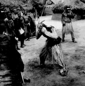Eju Onu (Long Mouth) Mmau Masquerade, Amuda village, Isu Ochi