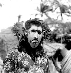 Masquerader in Nsukka