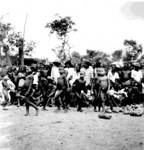 Small girl's parade Ngbagba Ikoro, Abiriba