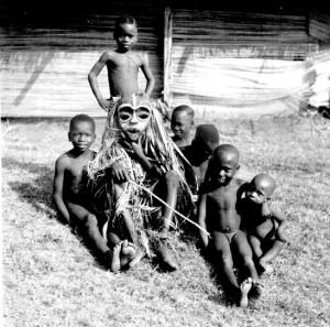 Boys masquerade (Ibibio style mask), Abiriba