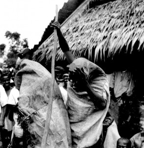 Two masks Ngbagba Ikoro, Abiriba