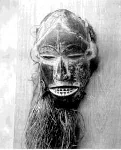 Mask (top missing) Ugwu Eke village