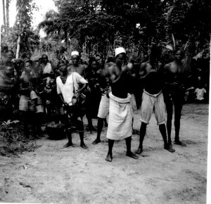 Band playing in Northern Igboland