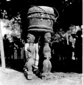 Tripod Drum (Ibibio)