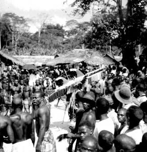 Aminikoro mask  Ogbukele festival,  Ekpafia Igbo