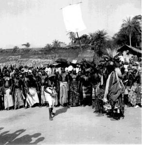Ekpekede (the head mask)  Ogbukele festival, Ekpafia Igbo