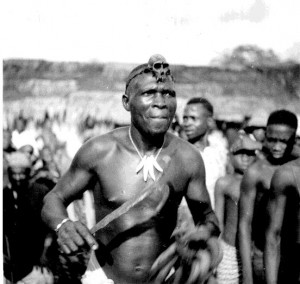 A dancer  Ogbukele festival,  Ekpafia Igbo