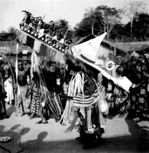 Iwolo mask  Ogbukele festival,  Ekpafia Igbo
