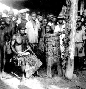 Ogbukere drum  Ekpeya Igbo