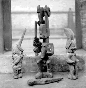 Three Ikenga Nimo, Nri-Awka Igbo