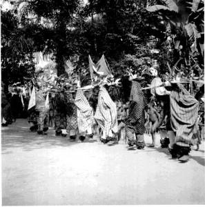 Parade of Masks -- Okerevinwe, Oweremba, Aka Leke, Adachinwa, Abam, Jack, Oyiaro, Oki