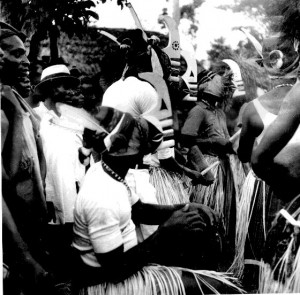 Masquerade band, Boys initiation, Elugu