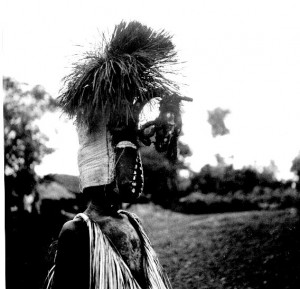 Calabash mask, Boys initiation