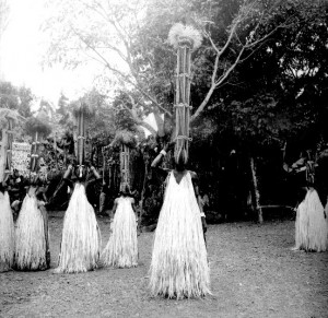 Dancing initiation masks, Boys initiation